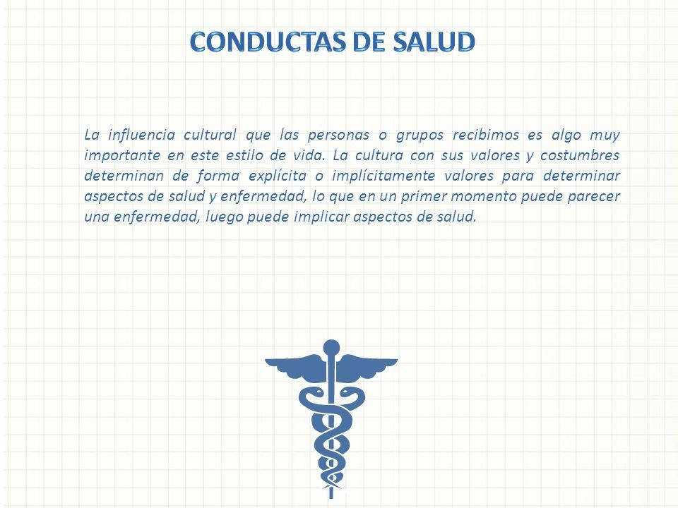 CONDUCTAS DE SALUD