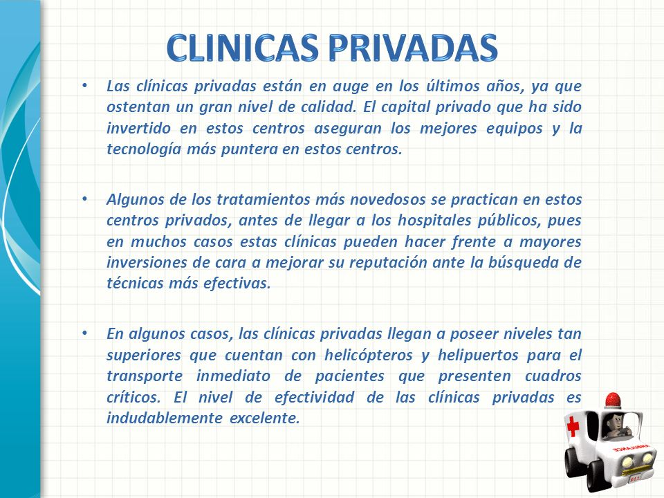 CLINICAS PRIVADAS