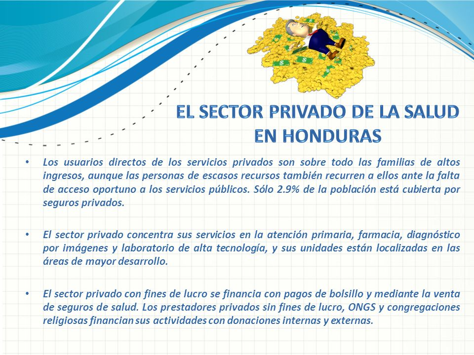 EL SECTOR PRIVADO DE LA SALUD EN HONDURAS
