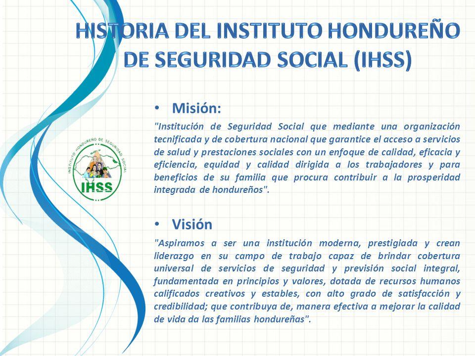 Historia del Instituto Hondureño de Seguridad Social (IHSS)