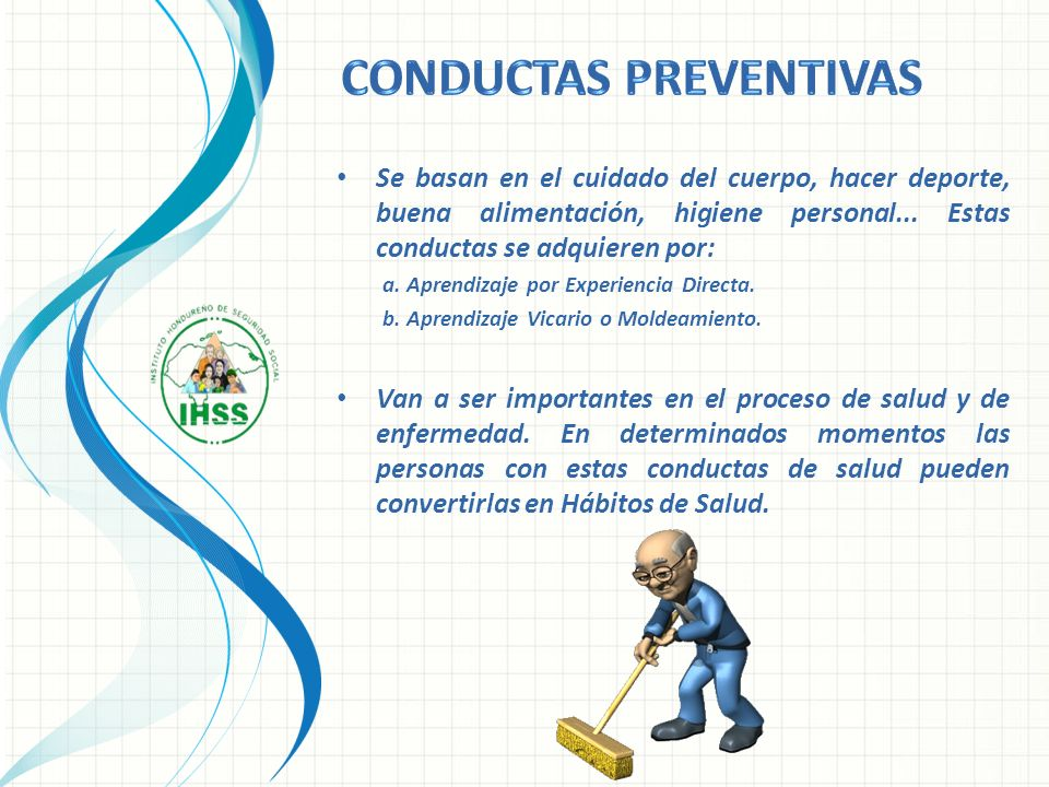CONDUCTAS preventivas