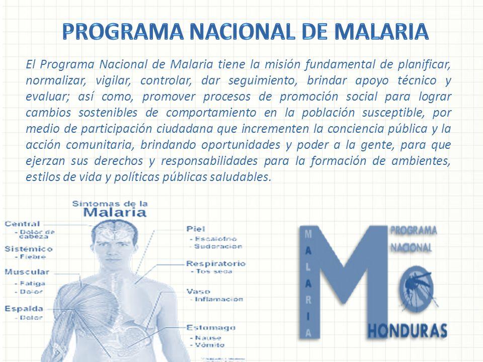 Programa Nacional de Malaria