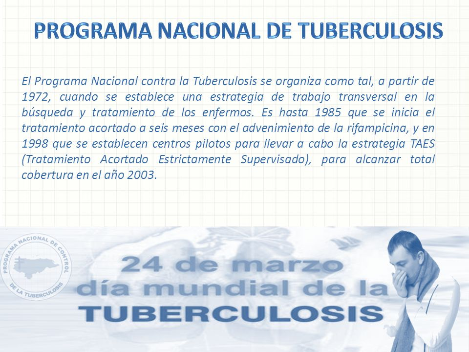 Programa Nacional de Tuberculosis