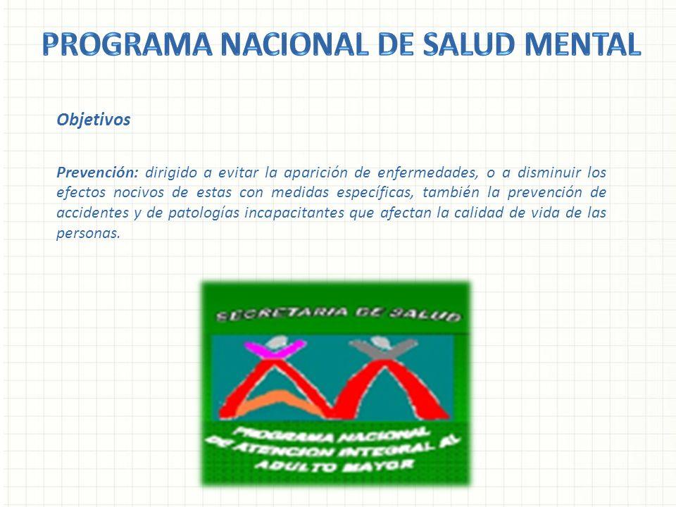Programa nacional de salud mental