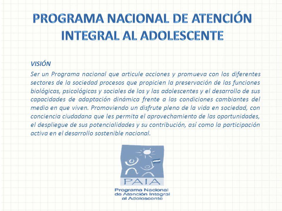 Programa nacional de atención integral al adolescente
