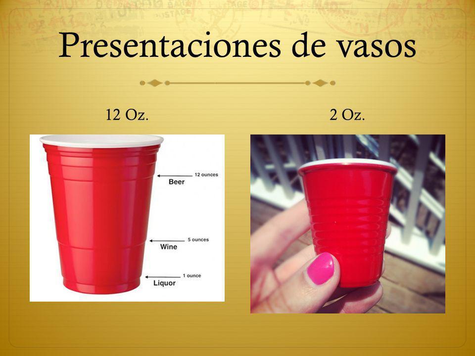Presentaciones de vasos
