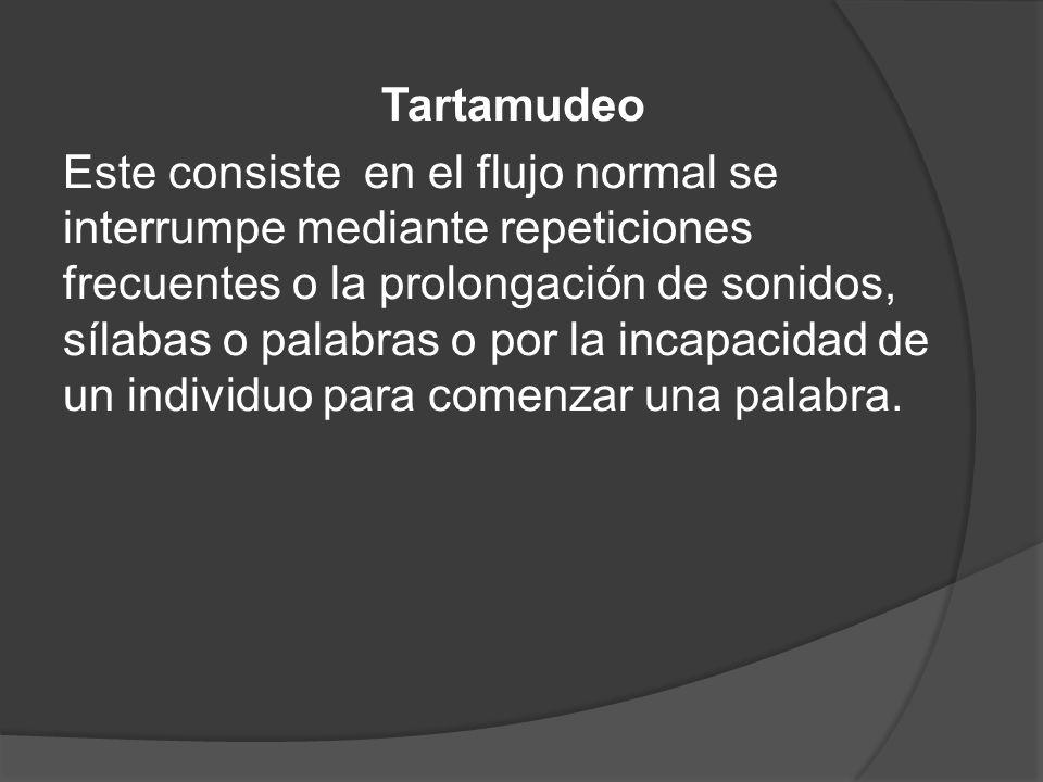 Tartamudeo