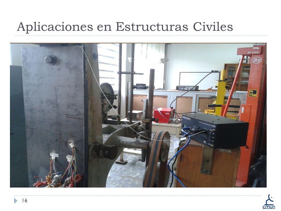 Aplicaciones en Estructuras Civiles