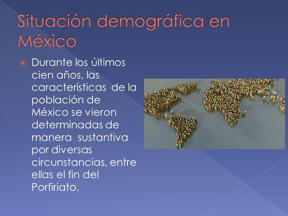 Situación demográfica en México