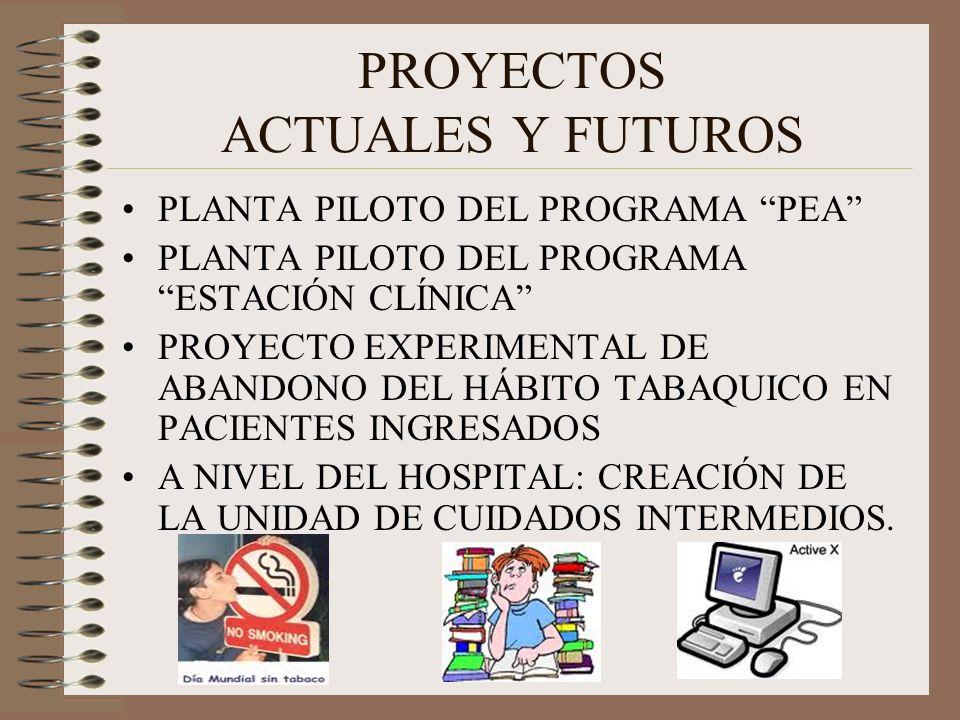 PROYECTOS ACTUALES Y FUTUROS