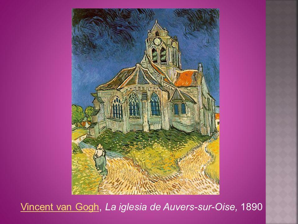 Vincent van Gogh, La iglesia de Auvers-sur-Oise, 1890