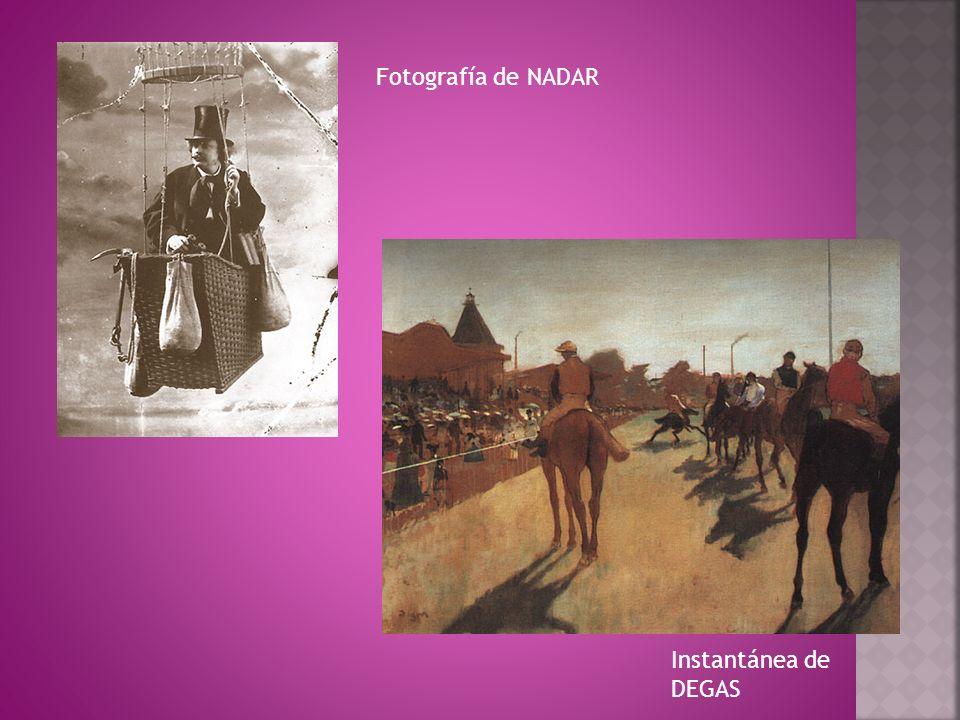 Fotografía de NADAR Instantánea de DEGAS