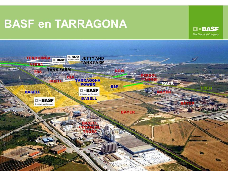 BASF en TARRAGONA RACK TREN 10/06/13; Dir 2012/18/UE TERQUIMSA