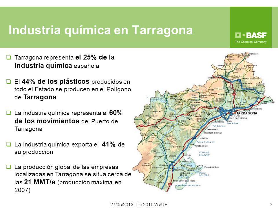 Industria química en Tarragona