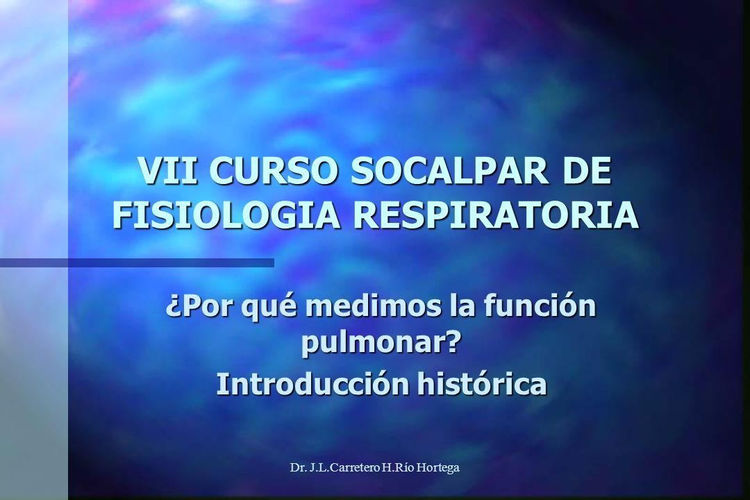 VII CURSO SOCALPAR DE FISIOLOGIA RESPIRATORIA