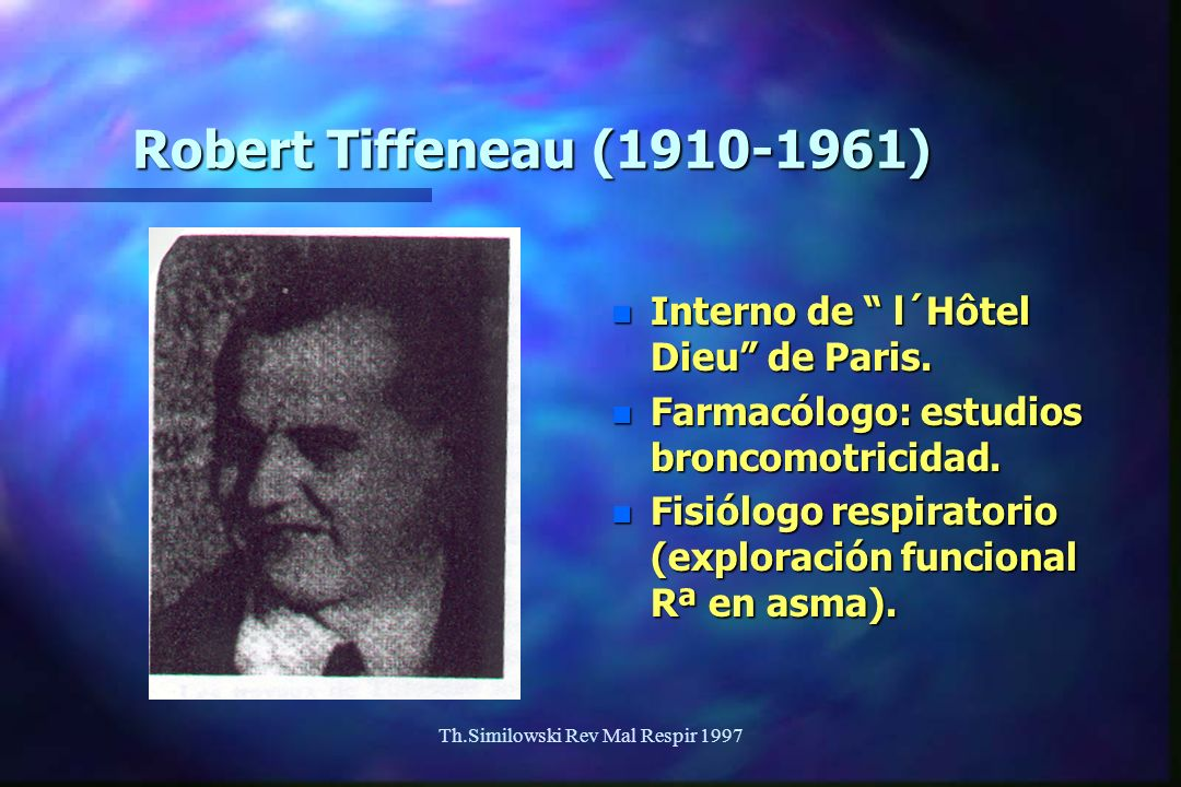 Th.Similowski Rev Mal Respir 1997