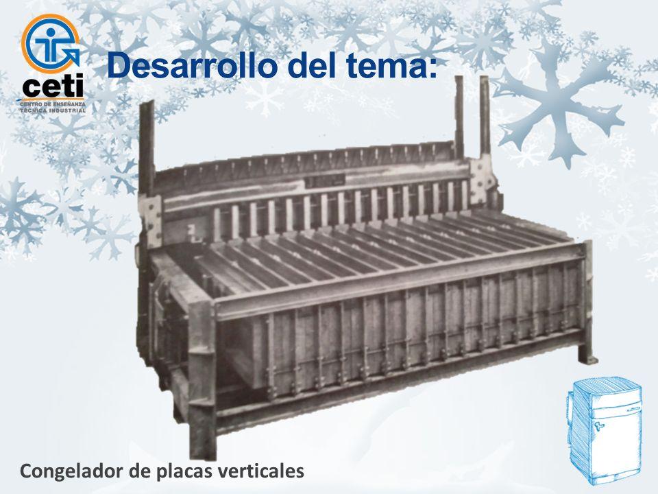 Congelador de placas verticales