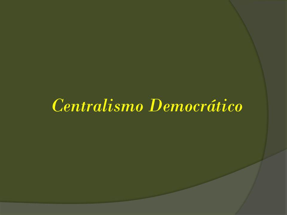 Centralismo Democrático