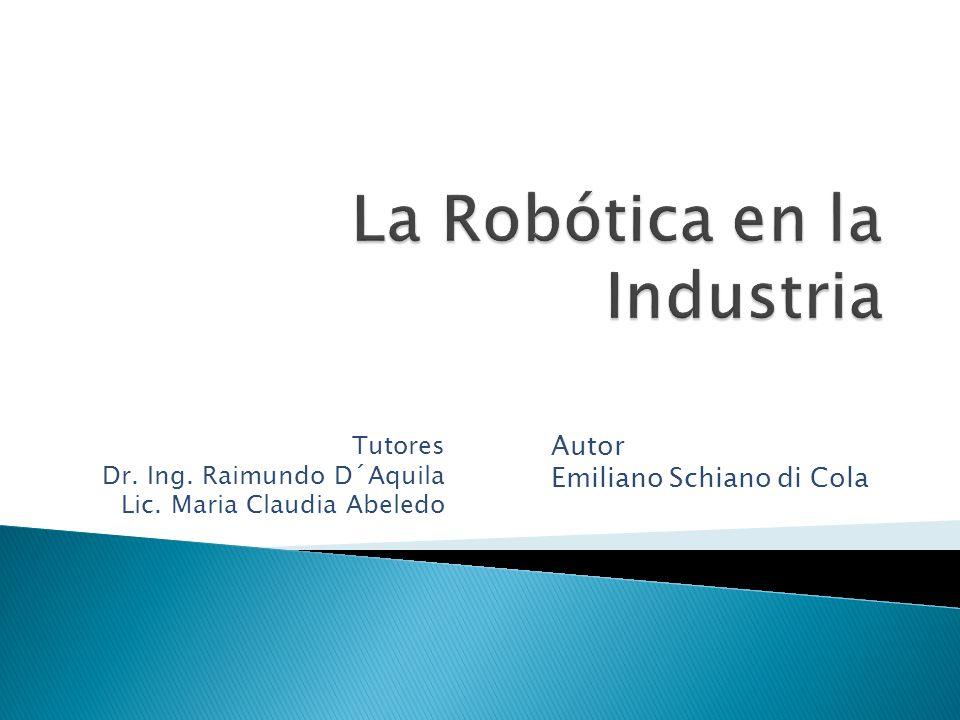 La Robótica en la Industria