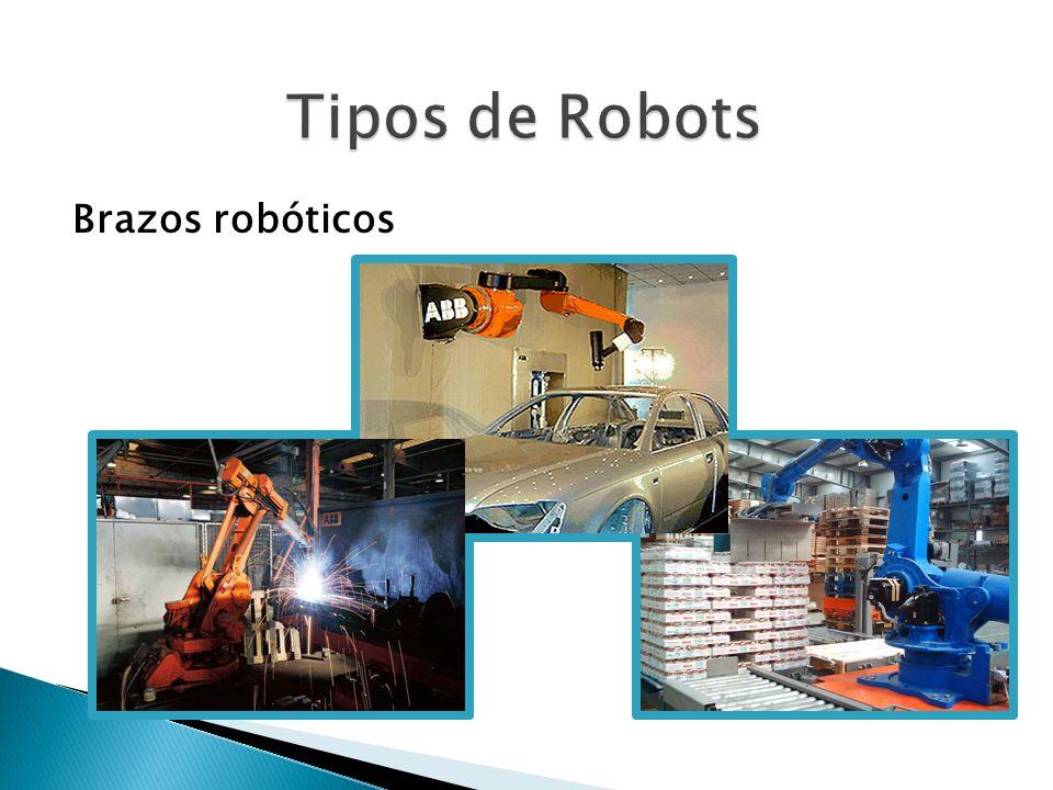 Tipos de Robots Brazos robóticos