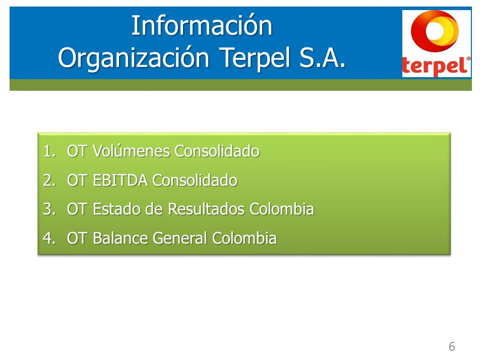 Organización Terpel S.A.