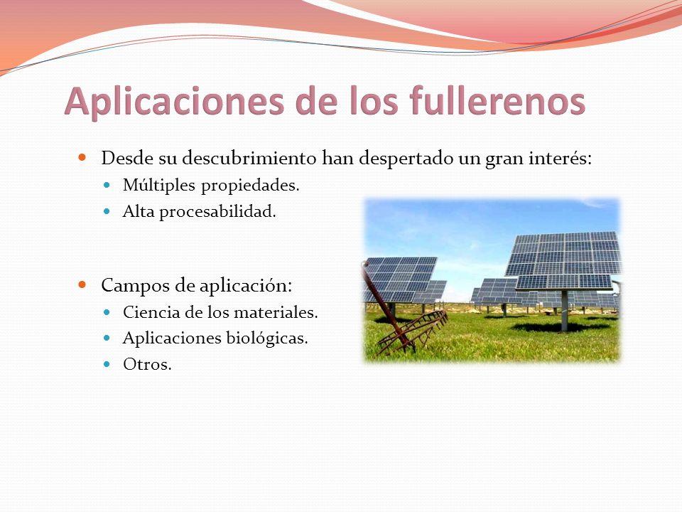Aplicaciones de los fullerenos