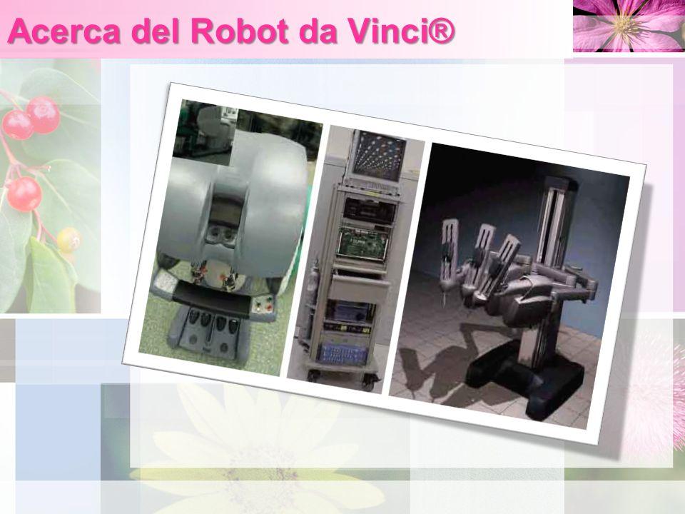 Acerca del Robot da Vinci®