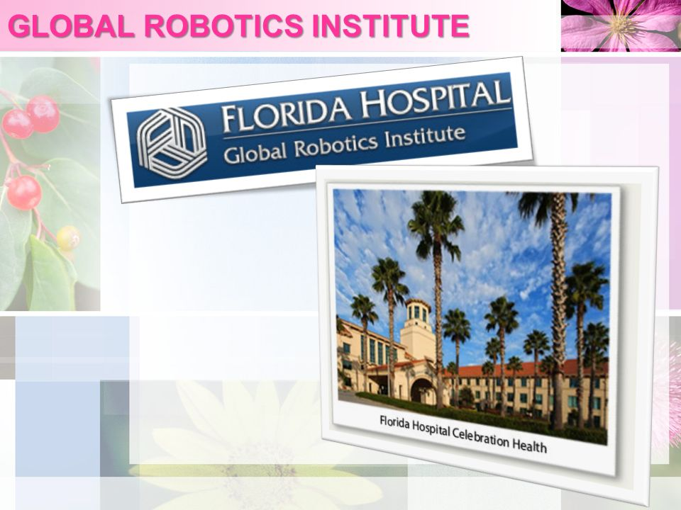 GLOBAL ROBOTICS INSTITUTE