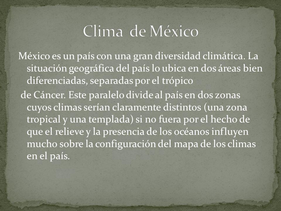 Clima de México