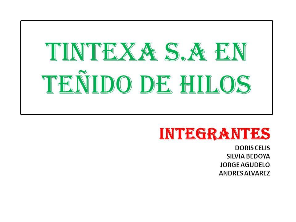 TINTEXA S.A EN TEÑIDO DE HILOS