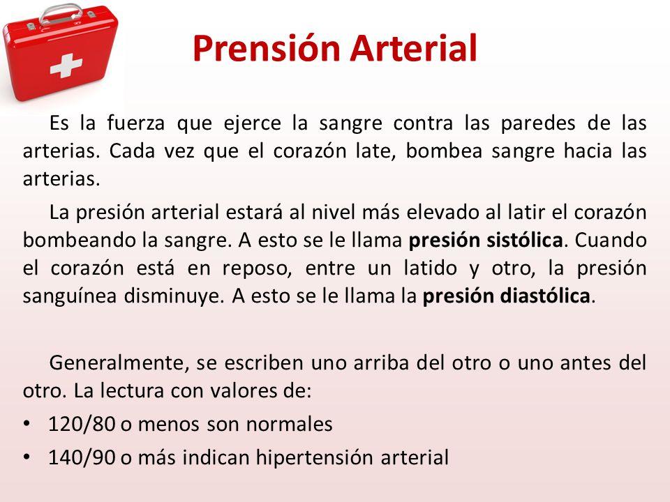 Prensión Arterial