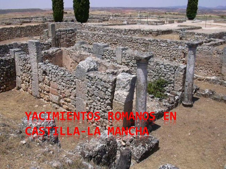 Yacimientos romanos en Castilla-La Mancha