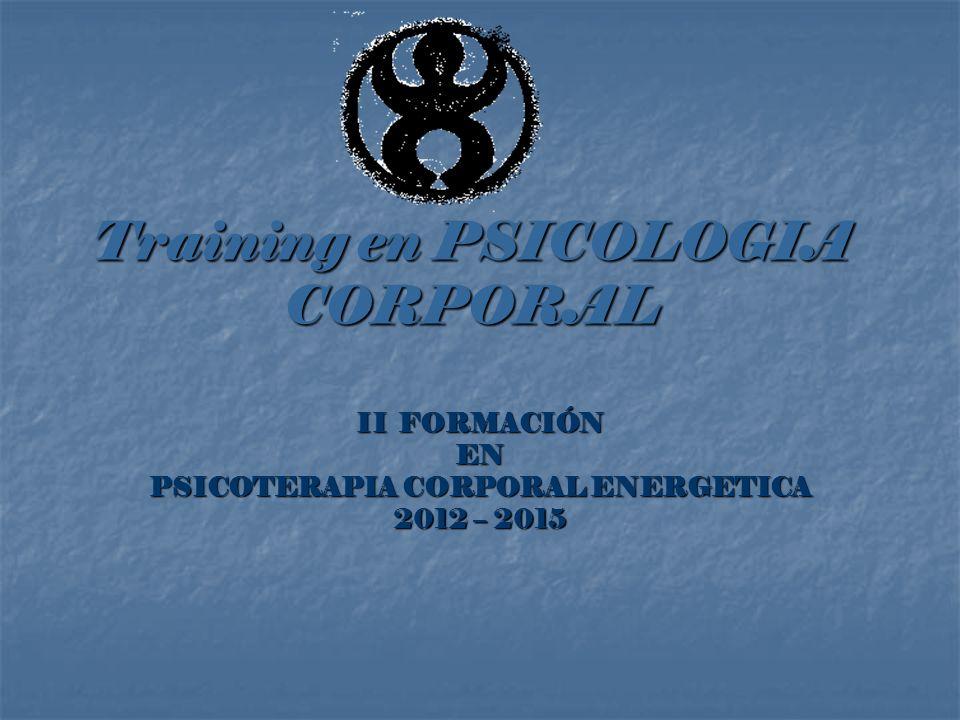 Training en PSICOLOGIA CORPORAL