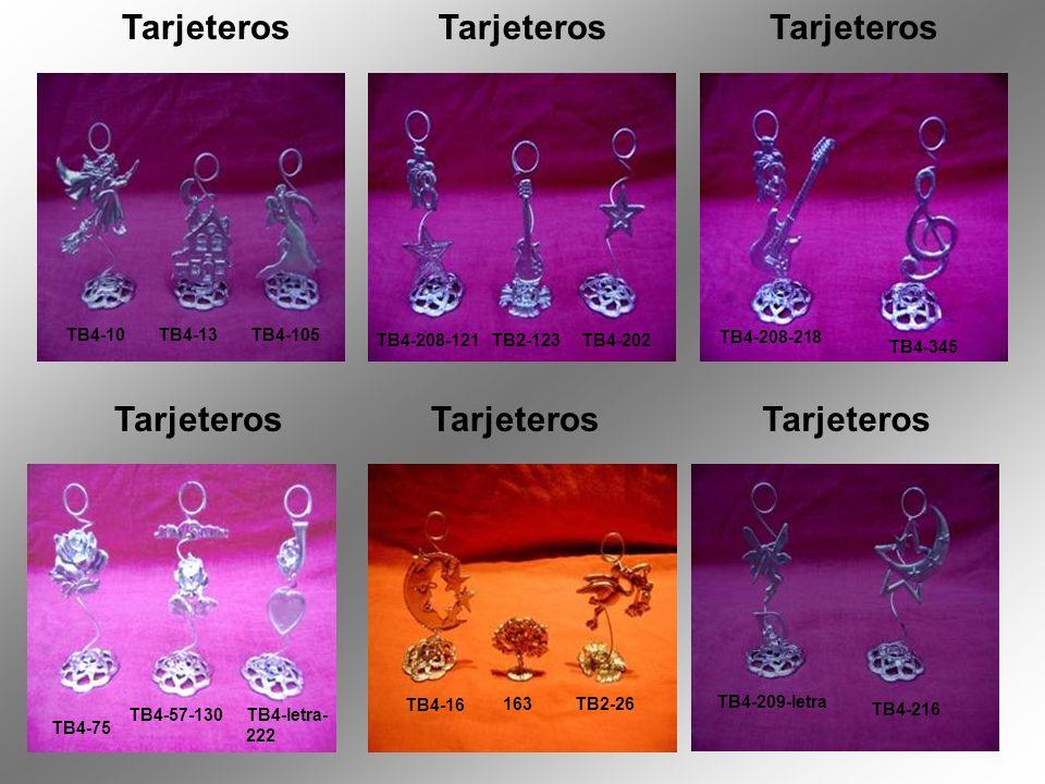 Tarjeteros Tarjeteros TB4-75 TB4-10 TB4-13 TB4-105 TB4-208-121 TB2-123