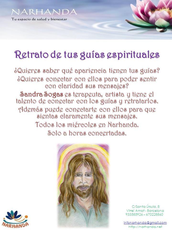 Retrato de tus guías espirituales