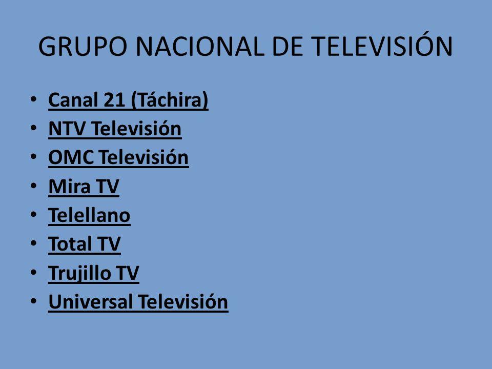 GRUPO NACIONAL DE TELEVISIÓN