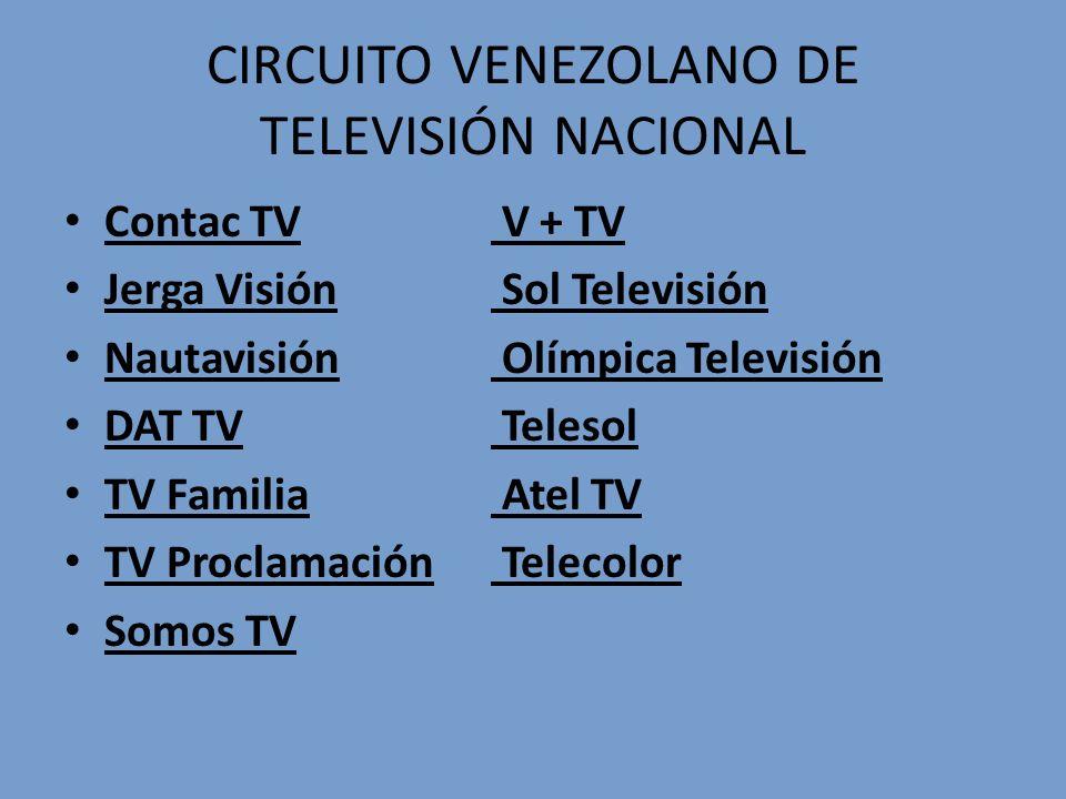 CIRCUITO VENEZOLANO DE TELEVISIÓN NACIONAL