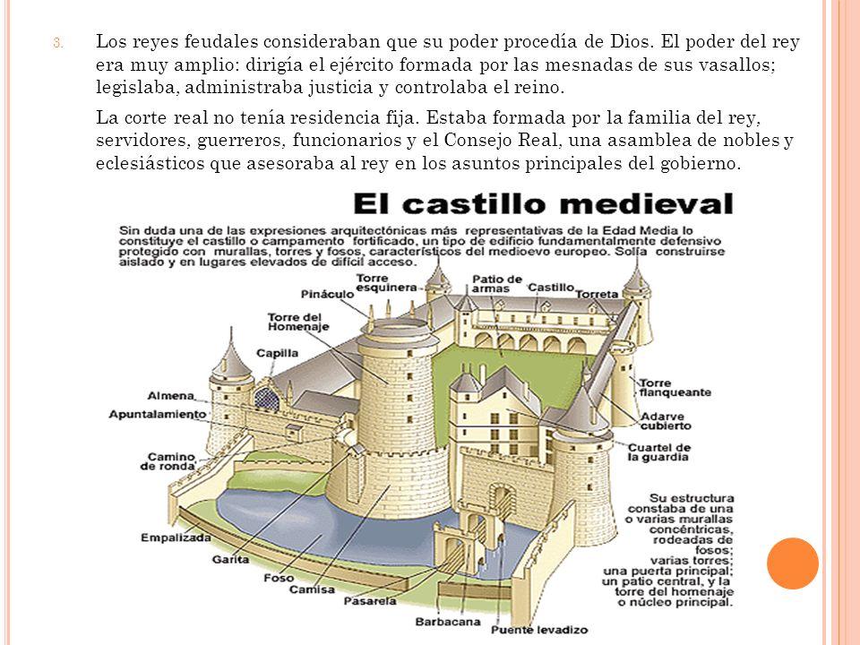 Los reyes feudales consideraban que su poder procedía de Dios