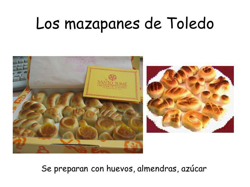 Los mazapanes de Toledo