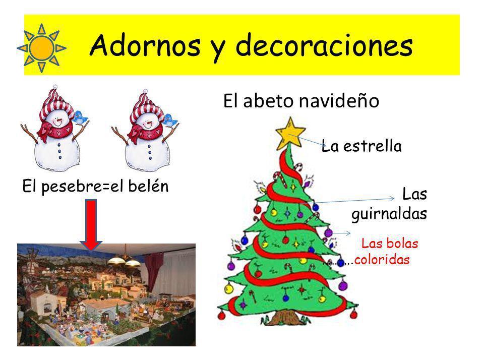 Adornos y decoraciones