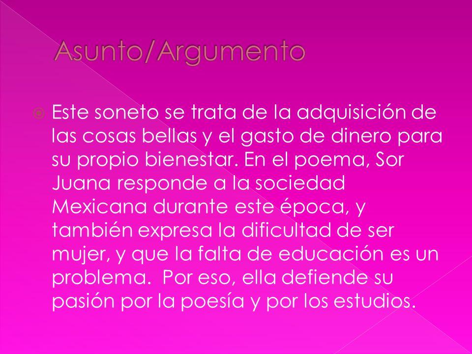 Asunto/Argumento