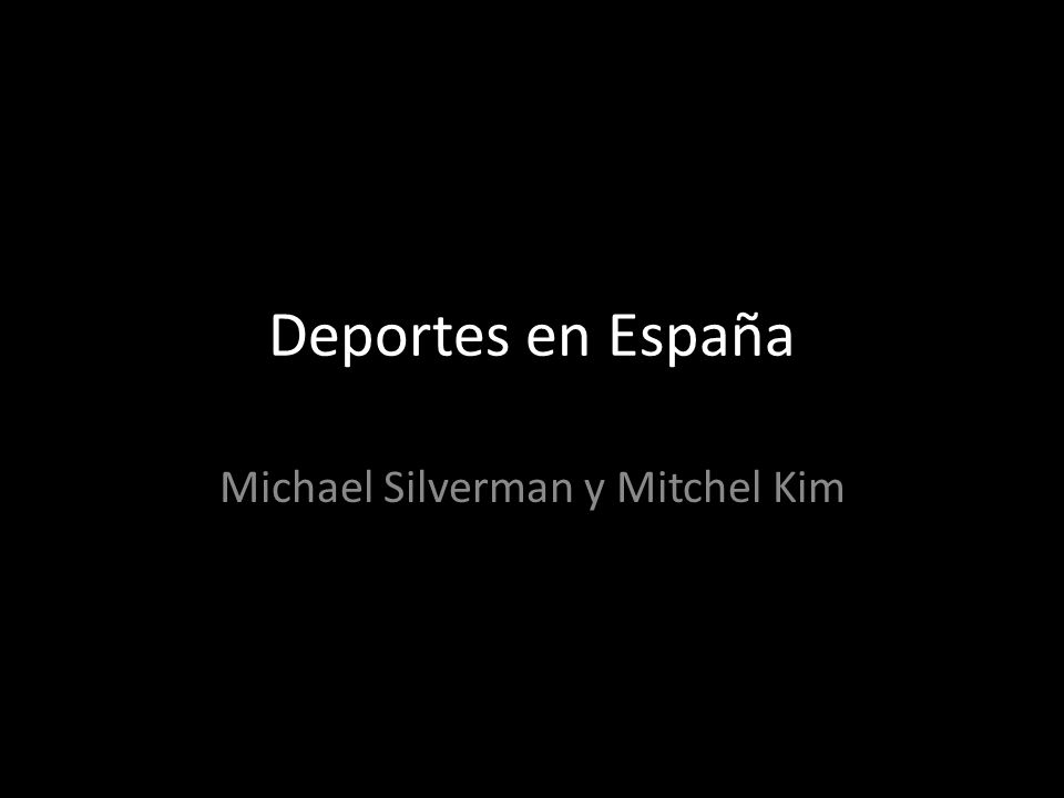Michael Silverman y Mitchel Kim