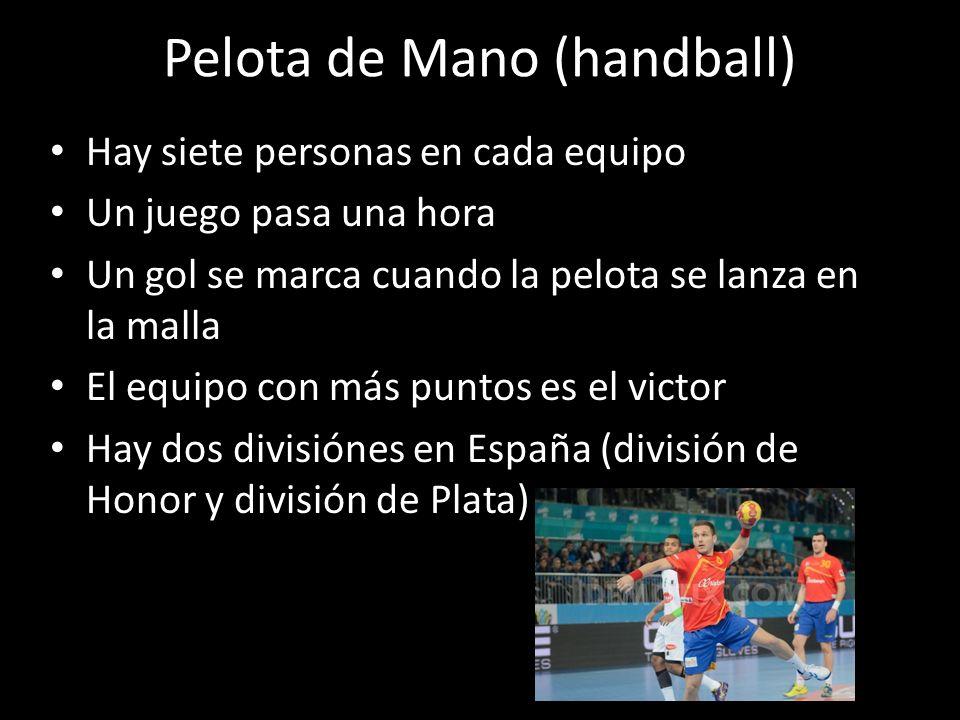Pelota de Mano (handball)