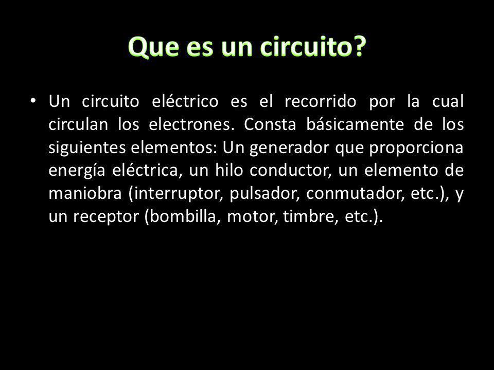 Que es un circuito