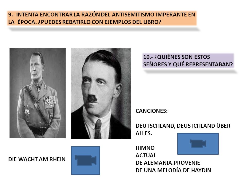 9.- INTENTA ENCONTRAR LA RAZÓN DEL ANTISEMITISMO IMPERANTE EN