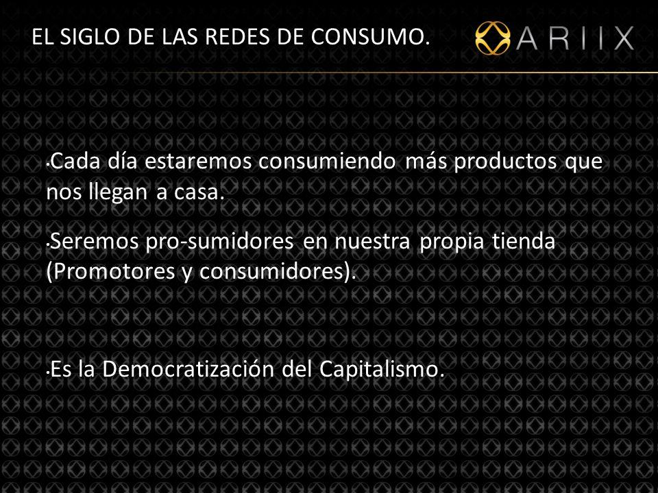 EL SIGLO DE LAS REDES DE CONSUMO.