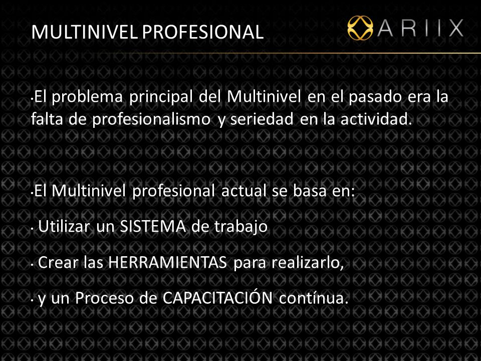 MULTINIVEL PROFESIONAL