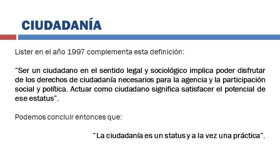 GOBERNANZA Y CIUDADANÍA EN LOS GOBIERNOS LOCALES