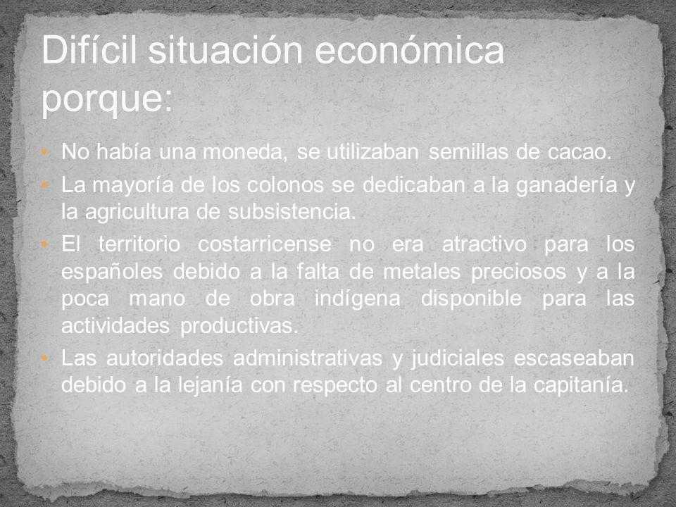 Difícil situación económica porque: