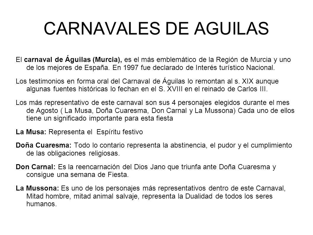 CARNAVALES DE AGUILAS